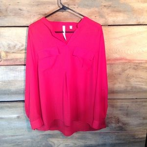 NY Collection Dress Style Top Size 1X